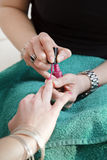 Nail varnish Stock Image