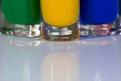 Nail varnish Royalty Free Stock Photography