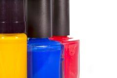 Nail varnish Royalty Free Stock Images