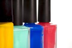 Nail varnish Stock Images