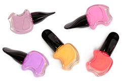 Nail varnish isolated Stock Photo