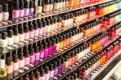 Nail varnish set Stock Images