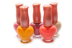 Nail varnish Stock Photo