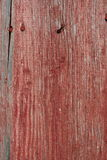 Nailed. Close up of an old barn with nails sticking out Stock Photography