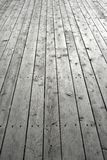 Nailed wooden flooring Royalty Free Stock Image