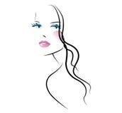 nailfile skönhet spikar den polerande salongen vektor illustrationer