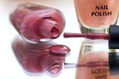 Nailpolish closeup Stock Photography