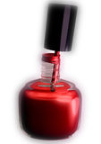 Nailpolish doux illustration de vecteur