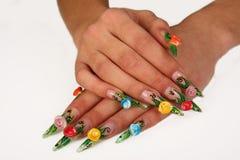 Nails royalty free stock photos