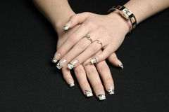 Nails stock images