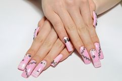 Nails Royalty Free Stock Photography