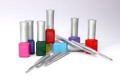 The nails art tools Royalty Free Stock Photos