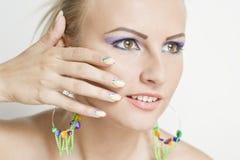 Nails- Beauty shoot Stock Photos