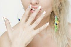 Nails- Beauty shoot Royalty Free Stock Photography