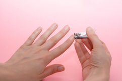 Nails care royalty free stock photo