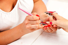 Nails design Royalty Free Stock Photo