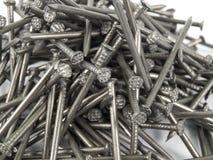 Nails on a heap Royalty Free Stock Photos