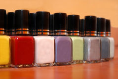 Nails polish Royalty Free Stock Images