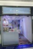 Nails premier shop in hong kong Stock Photography