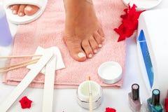 Nails SPA Stock Photo