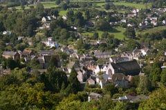 Nailsworth谷, Cotswold小山,格洛斯特郡,英国 免版税图库摄影