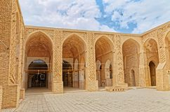 Nain old mosque architecture Royalty Free Stock Photos
