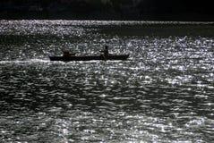 Naini湖 免版税库存图片