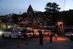 Nainital City Stock Image