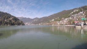Nainital Lake Timelapse - winters stock video