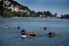 Nainital Lake Stock Image