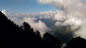 Nainital Timelapse de Himalaya darshan almacen de video