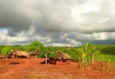 NAIOPUE,莫桑比克- 2008年12月7日:解决。一居住 免版税库存图片