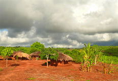 NAIOPUE MOZAMBIK, GRUDZIEŃ, - 7, 2008: ugoda. Przebywający Obrazy Royalty Free