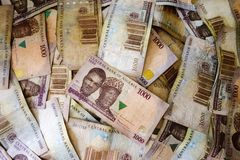 Naira, money from Nigeria Royalty Free Stock Photography