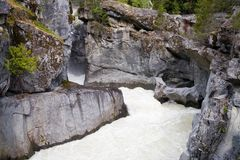 Nairn Falls. Whistler Area in British Columbia royalty free stock photography