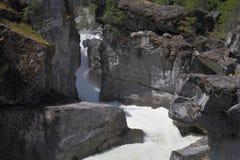 Nairn Falls Provincial Park, Whistler Stock Image