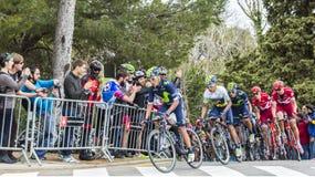 Nairo Quintana - ο νικητής Tour de Catalunya 2016 στοκ φωτογραφία