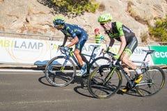 Nairo Quintana en Daniel Martin Stock Fotografie