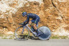 Nairo Quintana, Individual Time Trial - Tour de France 2016 Stock Images