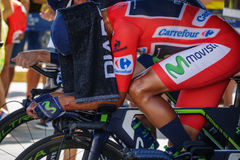 Nairo Quintana, Movistar team Stock Photo