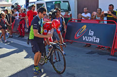 Nairo Quintana Movistar Team Royalty Free Stock Photography