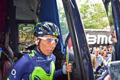 Nairo Quintana Team Movistar Royalty Free Stock Photo