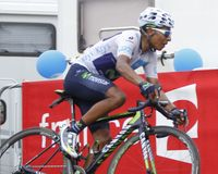 Nairo Quintana  Tour de France 2015 Royalty Free Stock Photo