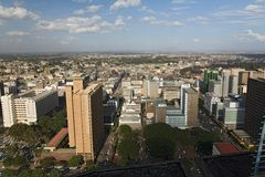 Nairobi 007. Cityscape Royalty Free Stock Photo