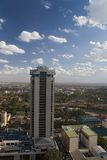 Nairobi. View from highest point of city Royalty Free Stock Photography