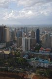 Nairobi. View from highest building Stock Photography