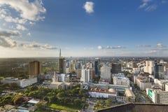 Nairobi affärsområde, Kenya, ledare Fotografering för Bildbyråer