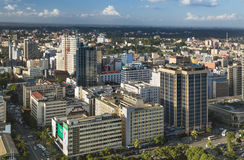 Nairobi Business District, Kenya, editorial Royalty Free Stock Photos