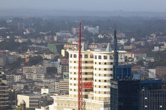 Nairobi Business District, Kenya, editorial Royalty Free Stock Image
