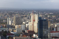 Nairobi Business District, Kenya, editorial Stock Photography
